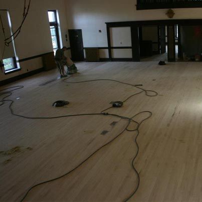 Commercial Hardwood Flooring-Installation and Maintenance repairs, re-sand and finish St. Paul, MN