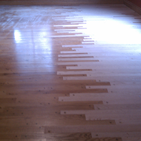 Twin Cities Hardwood Flooring Repairs before